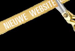 Nieuwe website on-line