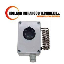 Industriële thermostaat met draaiknop