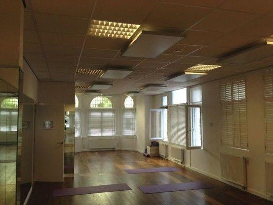 Bikram yoga studio verwarming