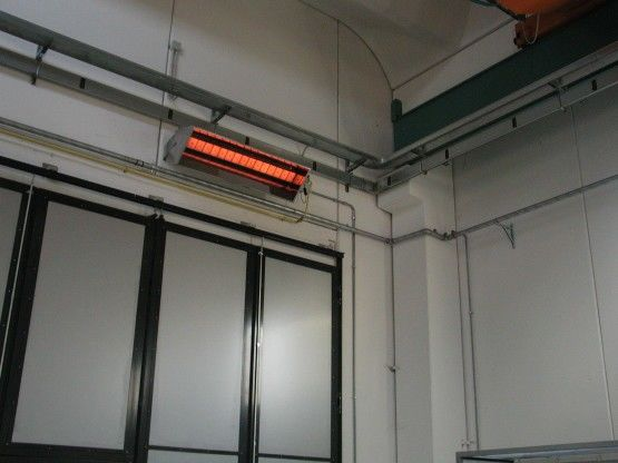 Gasinfrarood Helderstraler