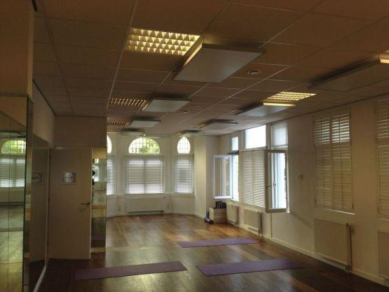 Yoga studio infrarood verwarming