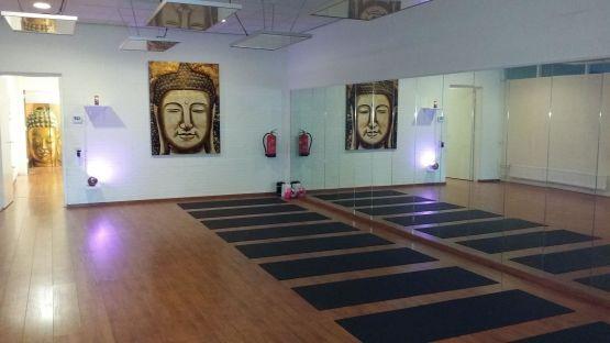 Yoga studio infraroodverwarming