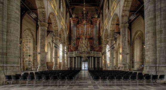 Infrarood kerkverwarming Noord-Holland