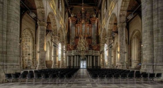 Infrarood kerkverwarming Zuid-Holland