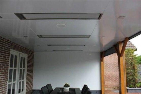 Infrarood stralingspaneel