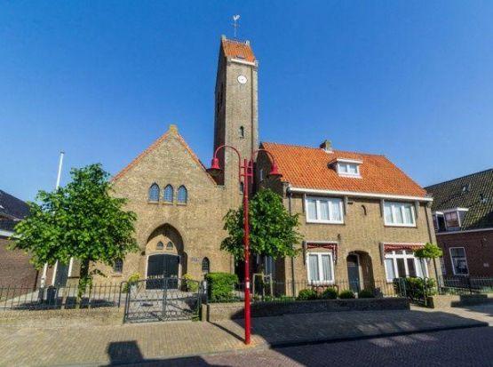 Kerkbankverwarming Algemene Kerk te Makkum