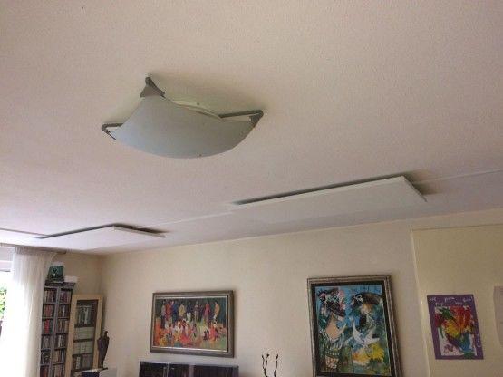 Infrarood bij- of hoofdverwarming woonkamer