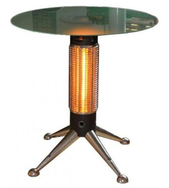 Verwarmde terrastafel Den Helder